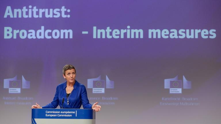 Антимонополният орган на ЕС нареди на американския производител на чипове