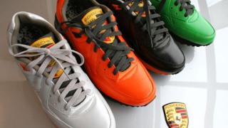 Nike пусна маратонки, вдъхновени от Porsche GT3 (галерия)