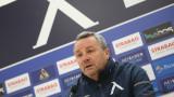 Славиша Стоянович изгледа победата на Левски от трибуните