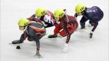 Женската ни щафета на полуфинал на Европейското по шорттрек