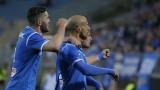 """Левски се добра до участие в Лига Европа, """"сините"""" не оставиха шанс на Черно море"""