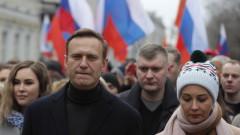 Руските власти пак погнаха Навални