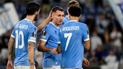 Силно първо полувреме върна Лацио на верния път в Лига Европа