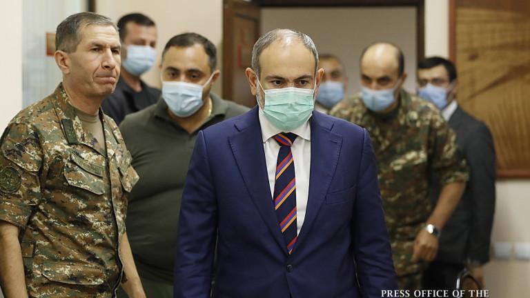 Армения има доказателства, че турската армия командва азерските военни операции