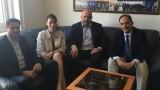 Министър Кралев проведе среща с организаторите на Световната треньорска тенис конференция