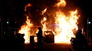 Хиляди протестираха в Барселона в подкрепа на арестувания рапър