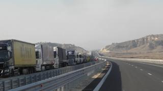 Тежки задръствания по границата ни с Турция