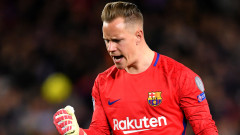 Тер Щеген ще поднови договора си с Барселона