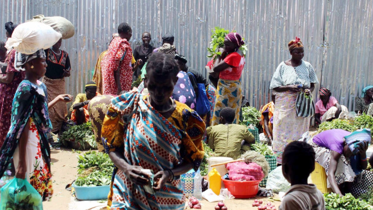 Населението на Африка расте с бързи темпове и от 140