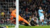 Манчестър Сити не остави шансове на Лестър, четири гола за Серхио Агуеро