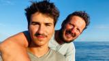 Стефан Иванов, Максим Иванов и Атлантическия океан, който прекосиха с лодката си Neverest