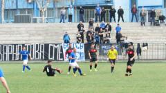 Шефовете на Спартак (Вн) с жест към феновете на клуба