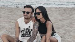 Димитър Бербатов се забавлява с любимите си жени