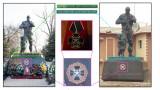 """В Донбас и в Сирия заснеха еднакви паметници на руски наемници от """"Вагнер"""""""
