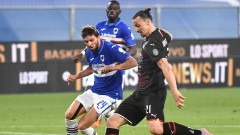 Милан спечели гостуването си на Сампдория с 4:1