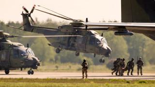 НАТО: Не правим учения заради Беларус