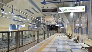 Пускат третия лъч на метрото през април
