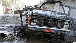 Осем души загинаха при самоубийствен атентат в Багдад