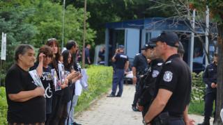 Махат лагера на хората с увреждания от парламента