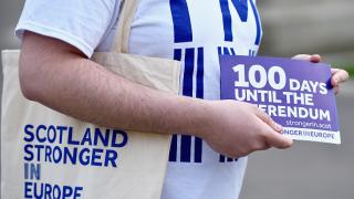 Гласувайте за оставане в ЕС, призова шотландският политически елит