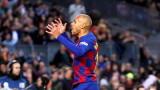 От Барселона смятат да разкарат Мартин Брайтуайт