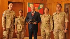 Наградиха военномедицинския екип, завърнал се от мисия в Мали
