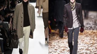 """Дълги палта и """"интелектуални"""" шалове доминират в мъжката мода"""