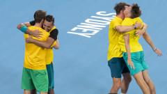 Австралия е първият полуфиналист за ATP Cup