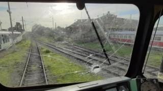 Пловдивски вандали раниха с камъни машинист на влака Стара Загора - София