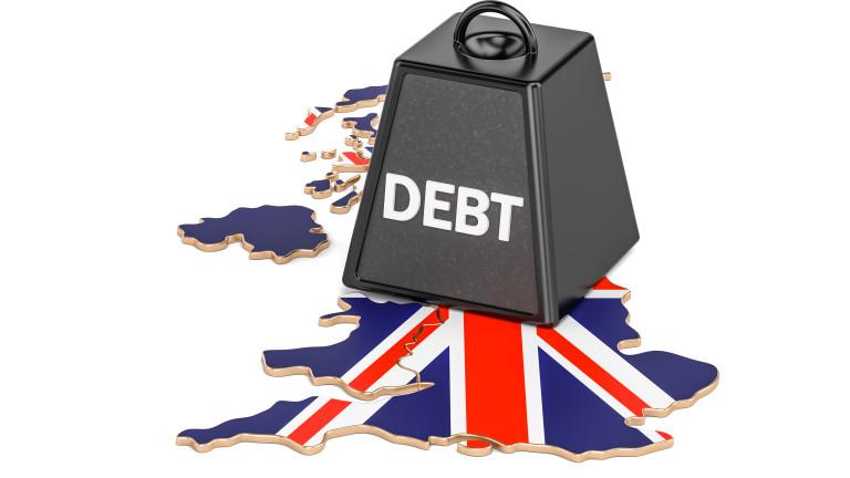 Великобритания с най-висок дълг от 1962 г.