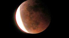 Първото за годината пълно лунно затъмнение