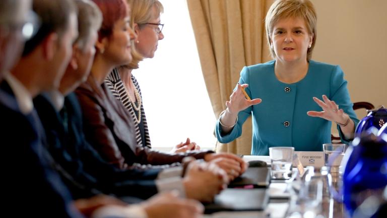 Шотландският парламент може да наложи вето на Брекзит