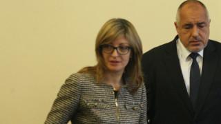 Вицепремиерът Екатерина Захариева защити правителството
