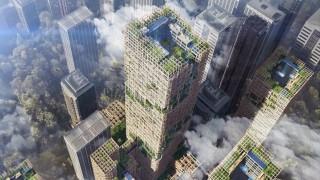 Най-високият дървен небостъргач ще се извиси в Япония