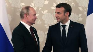 Макрон приел поканата на Путин да е в Москва за 75 години от Деня на победата