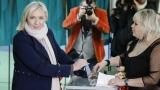 """""""Националният фронт"""" на Марин льо Пен фаворит на местния вот във Франция"""