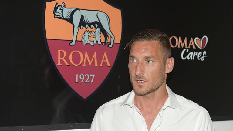 Легендата на италианския футбол, в частност на Рома, Франческо Тоти