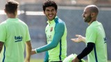 Карлес Аленя: Меси е спокоен и уверен в това, което ще се случи срещу Реал утре