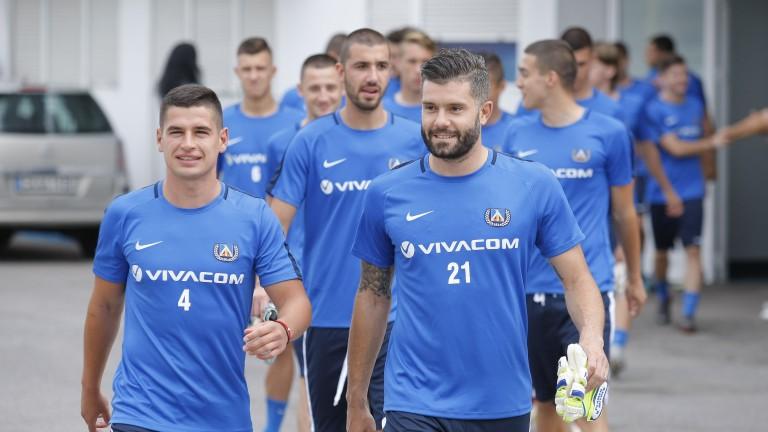 Футболистите на Левски със специална фотосесия преди старта на сезона