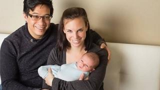 Чужденци кръстиха бебето си на наш град