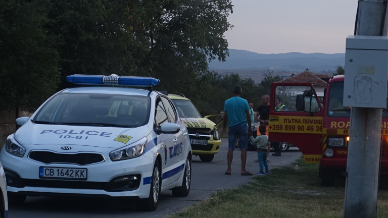 29-годишен моторист загина при катастрофа край Кюстендил