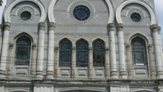 Подпалиха Синагогата в Бургас