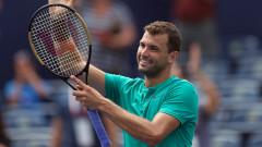 Григор Димитров удържа засега петото място в световната ранглиста