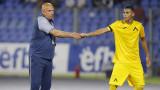 Георги Тодоров нахокал Здравко Димитров по време на тренировка в Левски