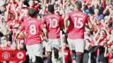 Манчестър Юнайтед с минимален успех срещу Лестър