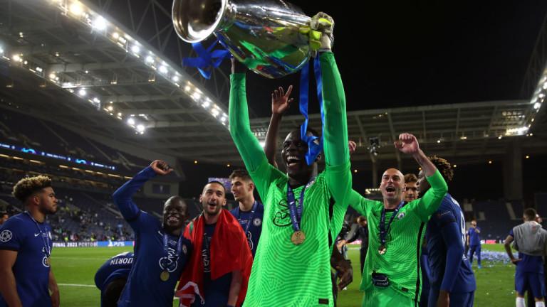 Вратарят на Челси Едуар Менди постави рекорд с представянето си