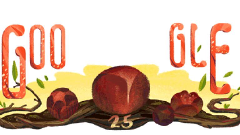 Google пусна дудъл за Рафлезия Арнолди