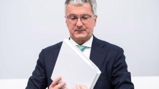 Volkswagen уволнява арестувания шеф на Audi
