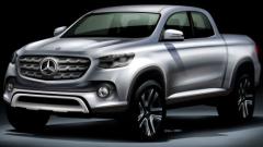 Пикапът на Mercedes се сродява с Nissan