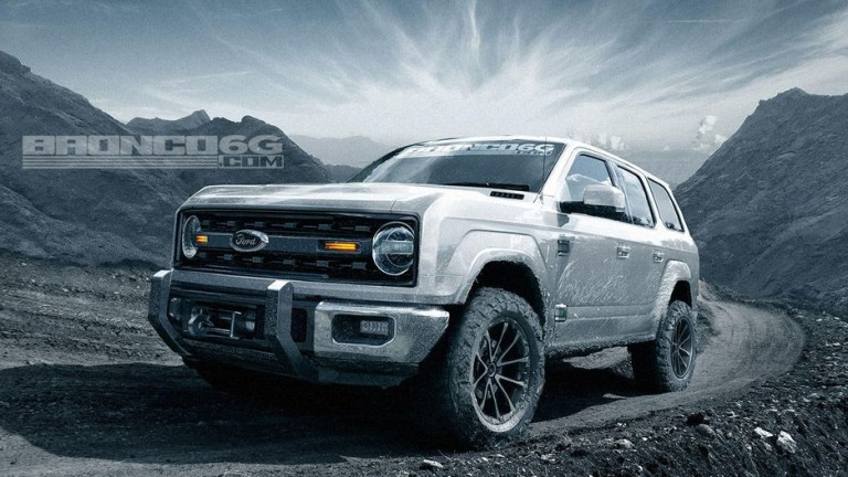 Ford Bronco ще е със 7 скорости